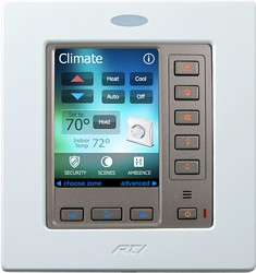 RTI RK3-V In-Wall Touch Panel Controller