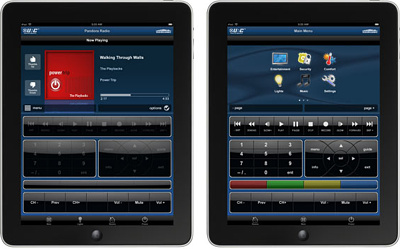 URC Total Control iPad/iPhone App